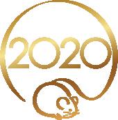 2020用 会社用年賀実行画像